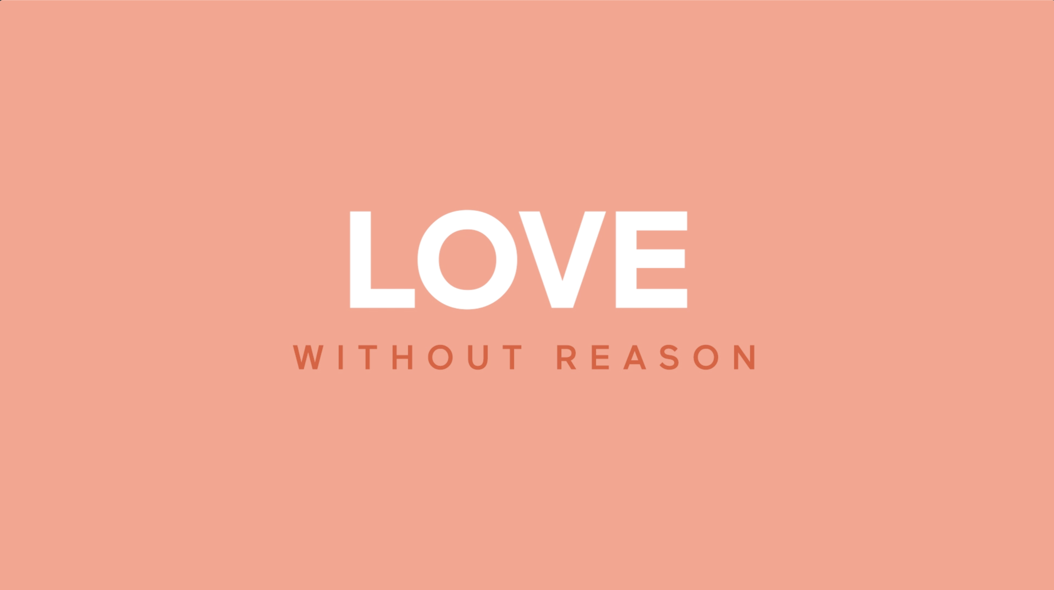 mbg - Love Without Reason