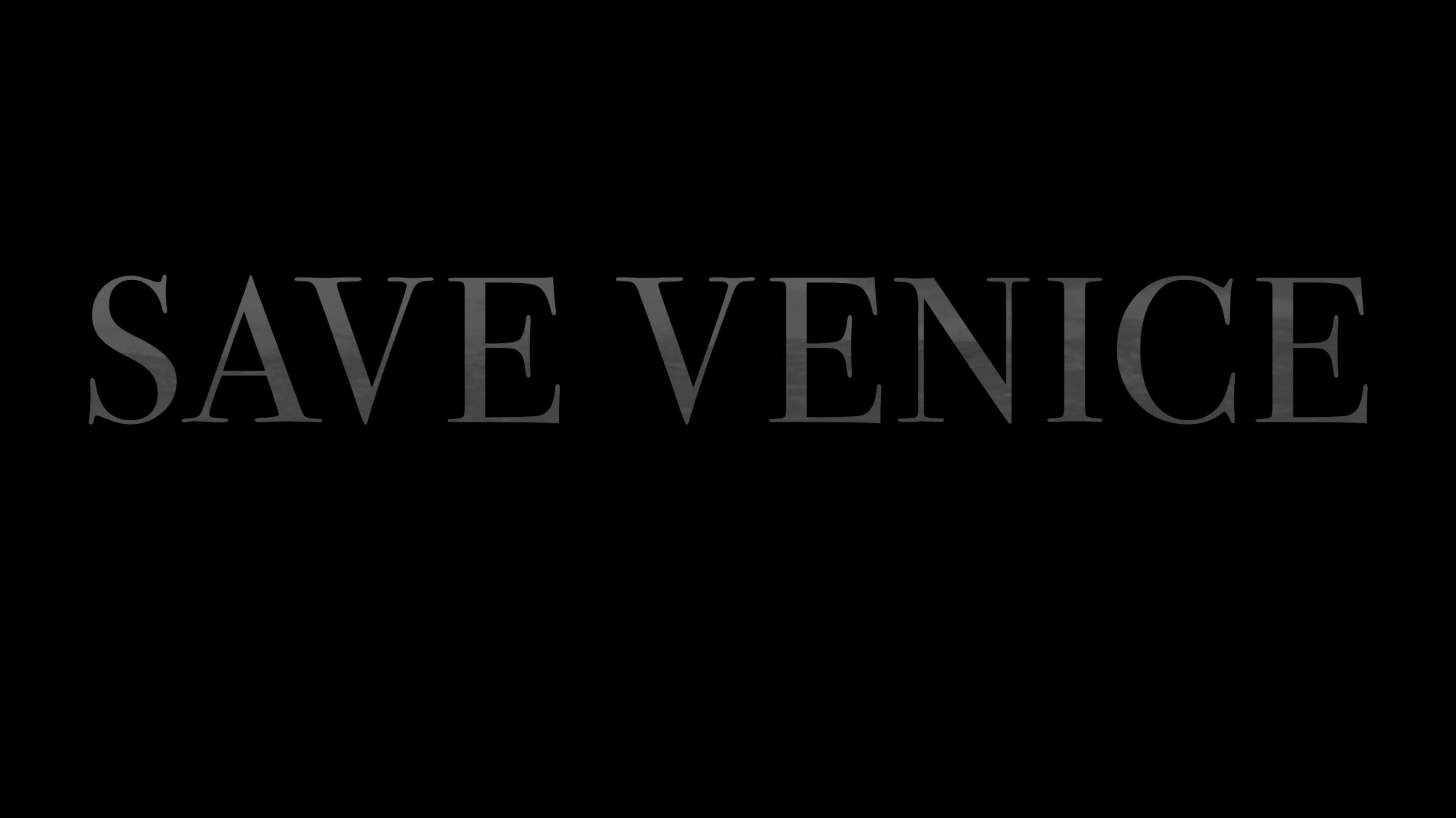 SAVE VENICE
